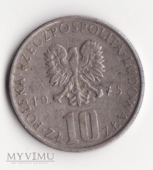10 złoty 1975