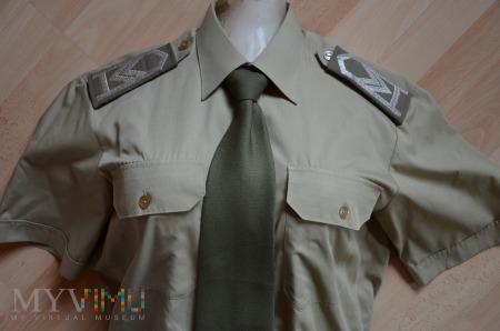 Koszulobluza khaki SG z krótkimi rękawami