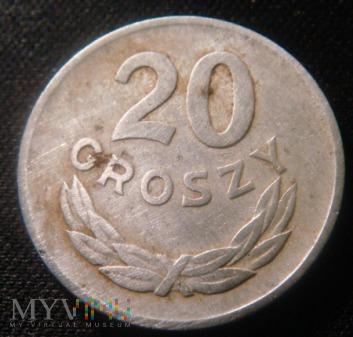 20 groszy 1949 aluminium