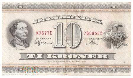 Dania - 10 koron (1967)