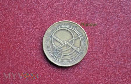 Moneta czeska: 20 korun českých