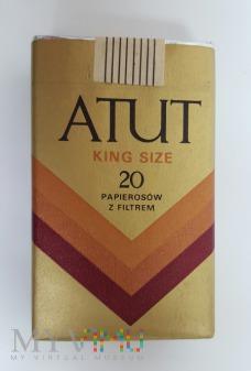 Duże zdjęcie Papierosy ATUT King Size 1988 r.
