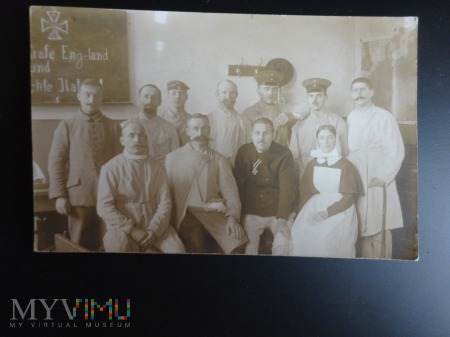 Duże zdjęcie Żołnierze I wojny