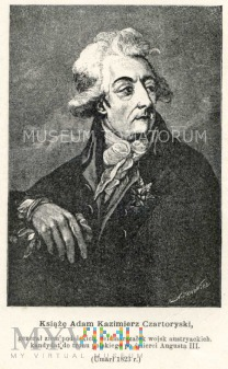 Czartoryski Adam - książę, mecenas sztuki i nauki