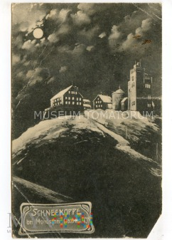 Karkonosze Śnieżka Schneekoppe 1923