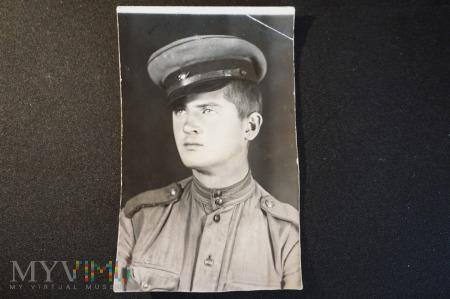 Polak w mundurze sowieckim 1943 r.