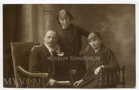 Stare zdjęcie rodzinne - 1918