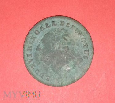 Moneta Zeton Ludwik 16 gall rex Francja 1793r