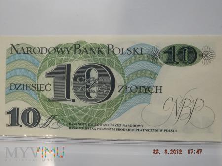 10 złotych PRL