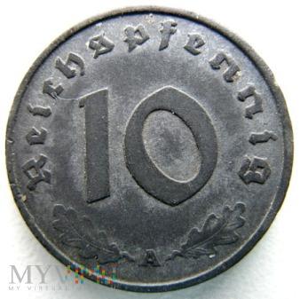 Duże zdjęcie 10 reichspfennig 1942 Niemcy (Trzecia Rzesza)