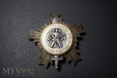 Order Armii Ludowej Ze Srebrną Gwiazdą -Jugosławia