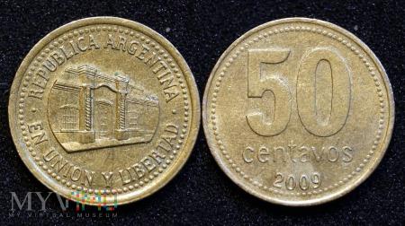 Argentyna, 50 centavos