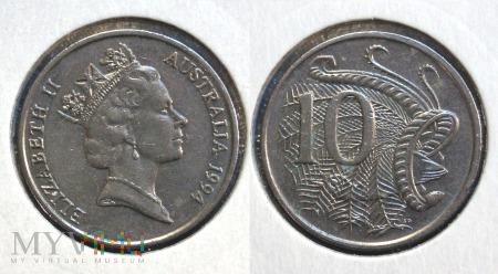 Australia, 10 centów 1994