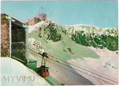 Duże zdjęcie Kolejka na Kasprowy Wierch - stacja górna - 1962