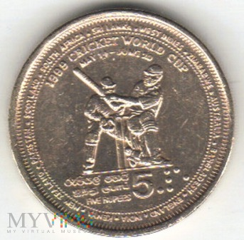 5 RUPEES 1999