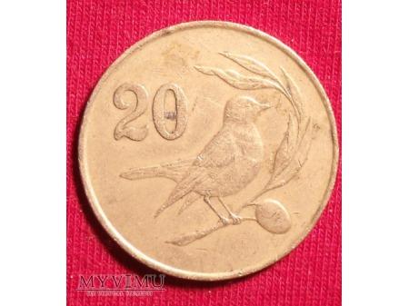 Cypr 20 cent