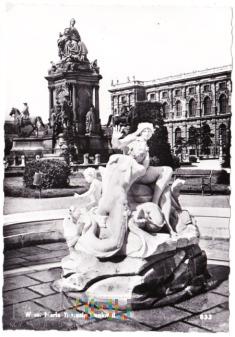 Wien. Maria Theresia Denkmal