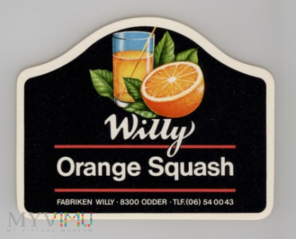 Willy Orange Squash
