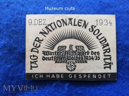 Tag der Nationalen Solidaritat 1934/35