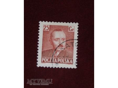 Bolesław Bierut. 25 groszy.
