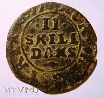 Dania, 2 skilling, 1677