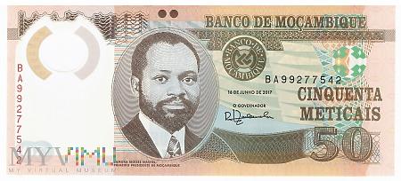 Mozambik - 50 meticali (2017)