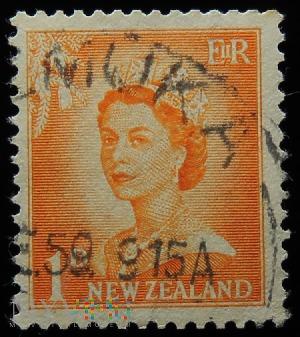 Nowa Zelandia 1 D Elżbieta II