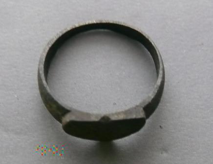 Pierścionek, sygnet samoróbka