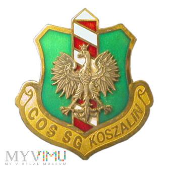 Odznaka COS SG Koszalin Straż Graniczna