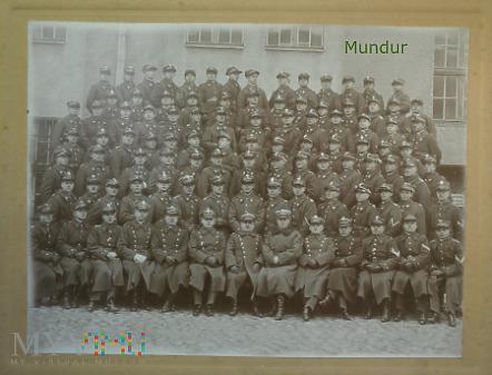 Żołnierze róznych formacji - Grudziądz 1930