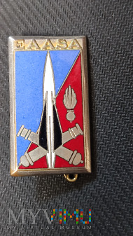 Odznaka Szkoły Artylerii Rakietowej wojsk Francji