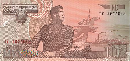 Korea Północna - 10 wonów (1998)