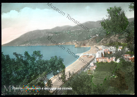 Maiori - Plaża od wschodu - 1960