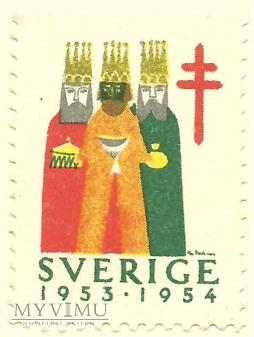 Szczęśliwego Nowego Roku - Szwecja - 1964 r.