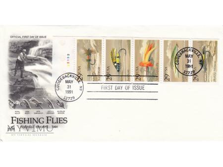 USA 1991 - FDC Artcraft cz.1