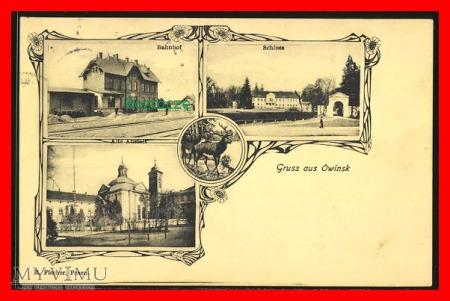 OWIŃSKA Owinsk, Dworzec kolejowy