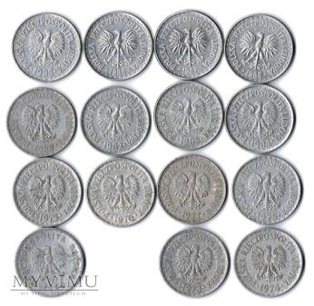 1 złoty od 1949 do 1988 roku.