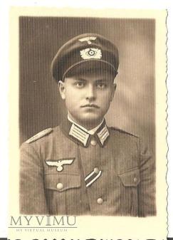 Duże zdjęcie Zdjecie żołnierza niemieckiego
