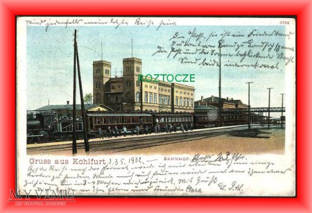 WĘGLINIEC Kuhlfurt Dworzec kolejowy