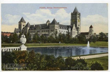 Poznań 1914 - Zamek
