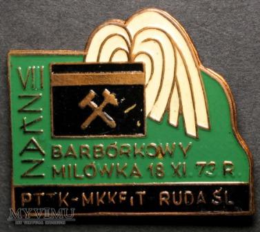 ZŁAZ BARBÓRKOWY MILÓWKA 18.XI.73 r.