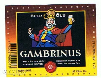 pärnu õlu gambrinus