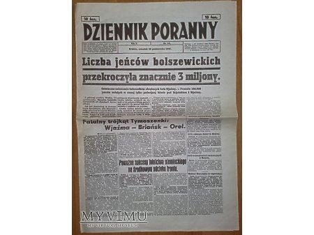 Dziennik Poranny z 16 października 1941 r.