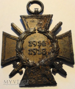 Krzyż Zasługi dla Frontowców 1914-1918