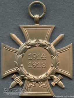 Krzyż Hindenburga (wersja dla walczących)