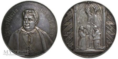 Biskup Franz Maria Doppelbauer medal 1889-1908