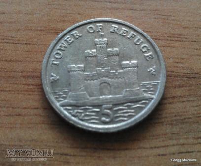 5 Pence-Isle of Man 2007