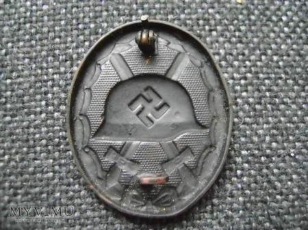 Odznaka Za rany czarna