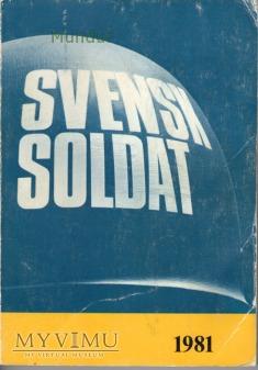 Svensk soldat 1981
