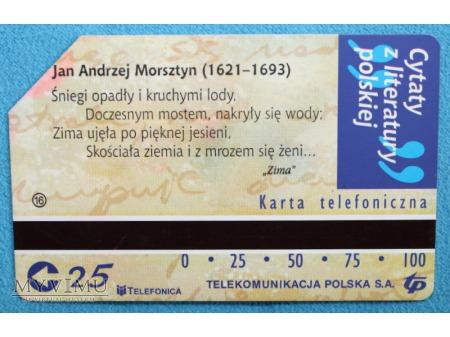 Cytaty z literatury polskiej 16